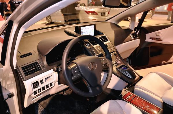2010 Lexus Interior