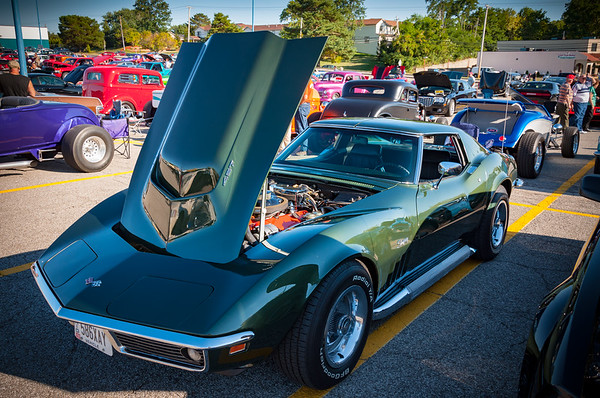 1969 Corvette Coupe w/ factory side pipes