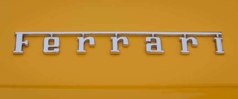 Ferrari 360 Modena Badge