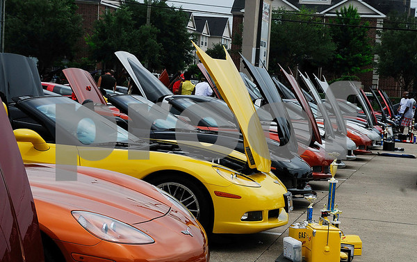 2010 National Afro-American Corvette Club  Car Show