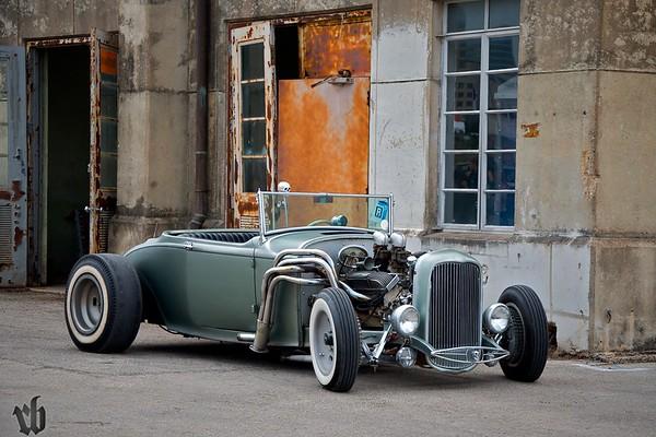 Bob Bleed's Roadster.
