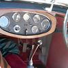 Alvis 1928 Speed 20A interior guages 2011-02-27 Desert Classic Concours