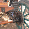 Brush 1907 axle rr rt: axles, frame, body all wood