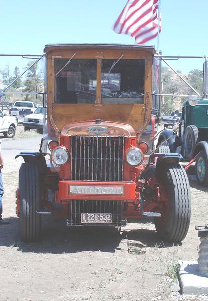 Autocar 1927 w 47 Cummins front