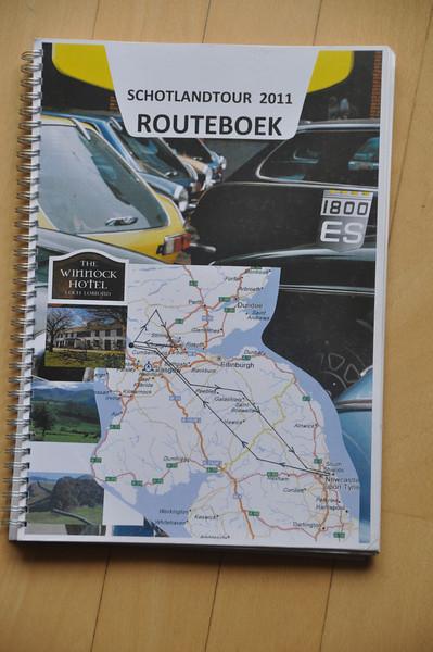 Het befaamde routeboek van Hans Brinkman