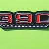 AMC 1970 AMX engine badge