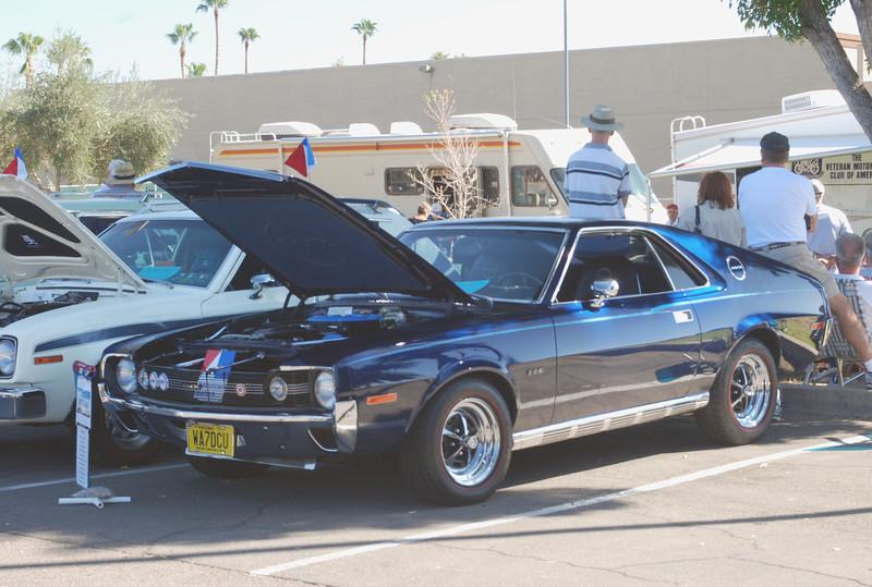 AMC 1970 AMX black ft lf