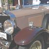 Cadillac 1929 dc phaeton ft lf detail