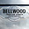 Bellwood 1958 travel trailer builder plate