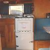 Bellwood 1958 travel trailer interior lf side