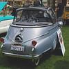 BMW Isetta 300 1956 Bubble Window Cabriolet rr rt