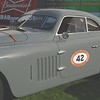 "Alfa Romeo 1942 6C2500 Berlinetta Aerodyne cowl lf ft    Richard Mattei's 1942 Alfa Romeo 6C 2500 SS Berlinetta Aerodynamica originally wore a spyder body. In 1945, it was acquired by Donald A. Jones, an American living in northern Italy. Jones, it turns out, was an OSS agent, code-number 809 and code-named ""Scotti,"" who was a liaison with the Italian resistance movement and played an heroic role at the end of World War II. Jones survived the war but the Alfa's body did not. It reportedly was transformed into a coupe before former Chrysler designer David Cummins was commissioned to do the Aeodynamica-inspired coachwork, which was completed by the Jim Stokes Workshops in England"