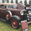 Ford 1932 Drauz Convertible Victoria ft rt