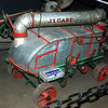 Case early 1900s thrashing machine sales demo model rr rt