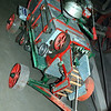 Case early 1900s thrashing machine sales demo model ft rt