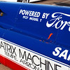 Bonneville car V4TBFS 27T engine rr bodywork