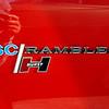 AMC 1969 SC Rambler badge fender