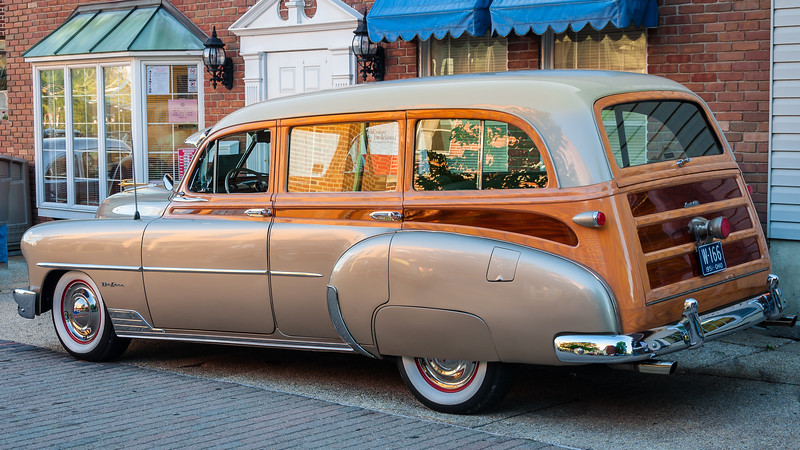 1951 Chevy Deluxe Wagon