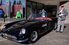 Will, next to what I think is a 1958 Pininfarina Ferrari.