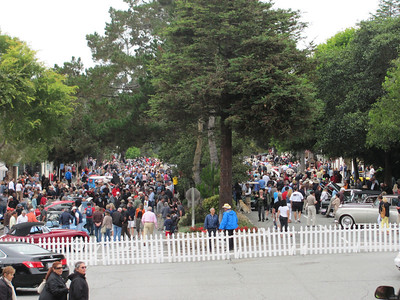 2012 Concours on the Avenue Carmel CA.