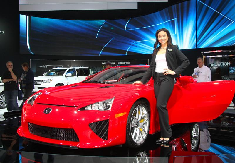 The 2013 Lexus FLA...