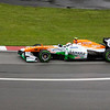 Paul di Resta of Force India during Saturday morning session