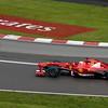 Ferrari's Fernando Alonso in Saturday morning session