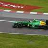 One of the Caterhams