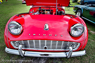 Triumph at the British Car Show at the Palm Beach International Raceway in Jupiter FL, Feb. 18, 2012.