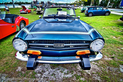 Triumph TR6 at the 2012 British Car Show at Palm Beach International Raceway in Jupiter, FL.
