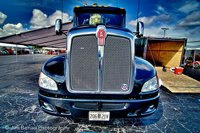 Big rig at the Palm Beach International Raceway in Jupiter FL, Feb. 18, 2012.