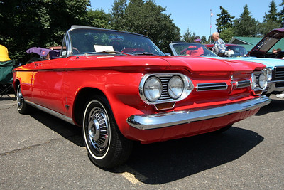 St. Helens Elks Cruise-In Corvair