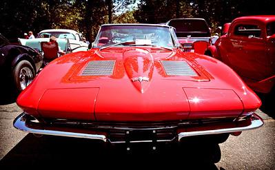 St. Helens Elks Cruise-In Corvette