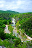 Turner Falls area off of Interstate 35 in Southern OK was a nice midway break from the boring life on the interstate.