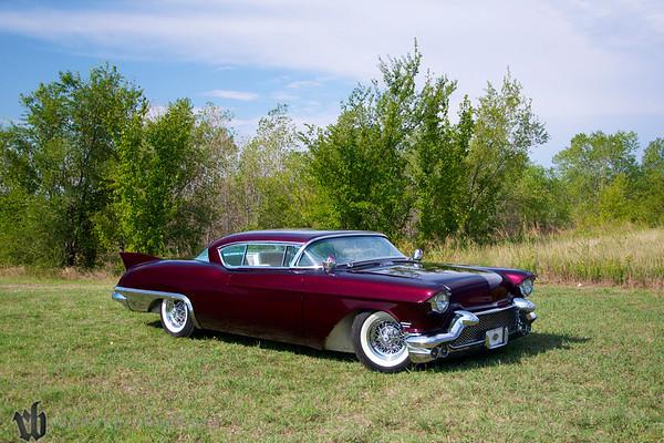 1957 Cadillac, owned by Jeff Myers- Premier Body & Paint, Arkansas City, KS
