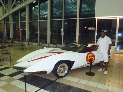 Speed Racer's car The Mach5