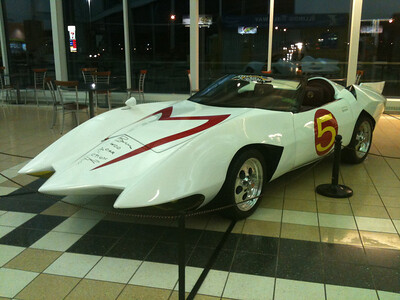 068 Speed Racer's car The Mach5