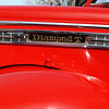 Diamond T 1949 Model 201 hood side lf