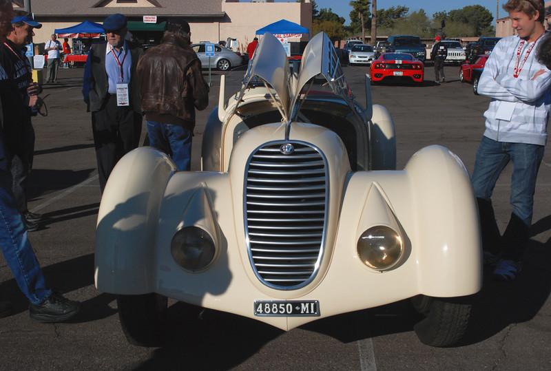 Alfa Romeo 1936 8C Zagato front