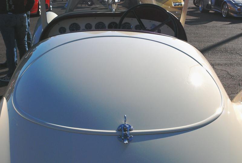 Alfa Romeo 1936 8C Zagato rear deck