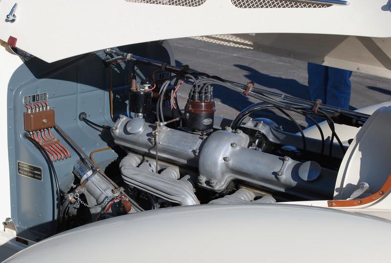Alfa Romeo 1936 8C Zagato engine ft rt 3_4