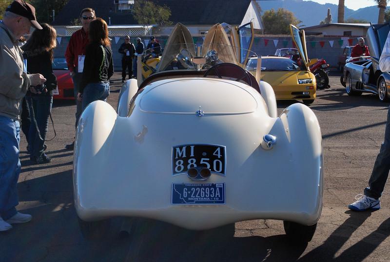 Alfa Romeo 1936 8C Zagato rear