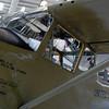 Cessna O-1E Birddog cockpit side lf