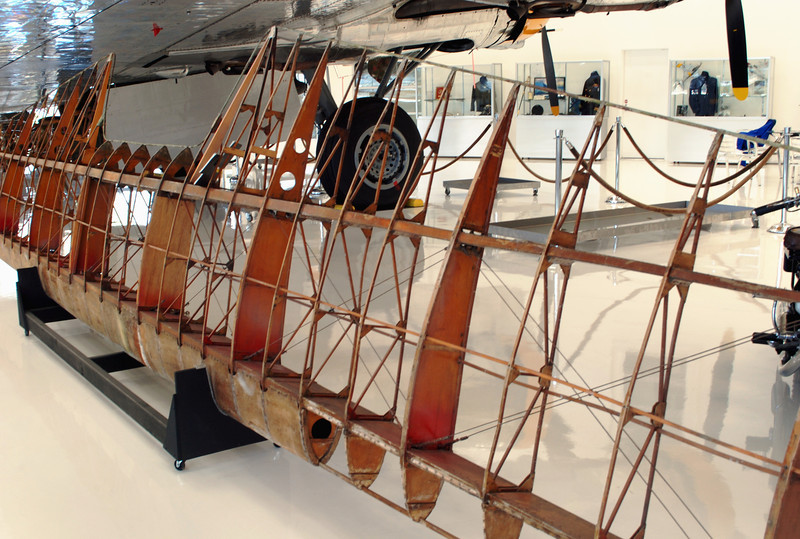 Arrow Sport 1929 upper wing spar 3_4
