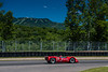 Bert Skidmore's 1968 McLaren M6B in turn two with Mont Tremblant in the background. (Photographer: Jon Jeffress)