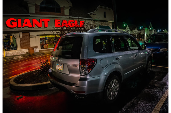 Night Photography – Subaru Forester