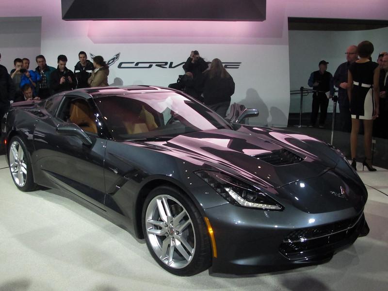 Definitely, the Corvette drew the biggest crowds.