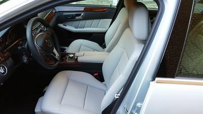 Interior: seats are Ash color; Trim: black carpet and burled walnut paneling