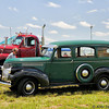 1945 Chevrolet Suburban and Mack B61 truck