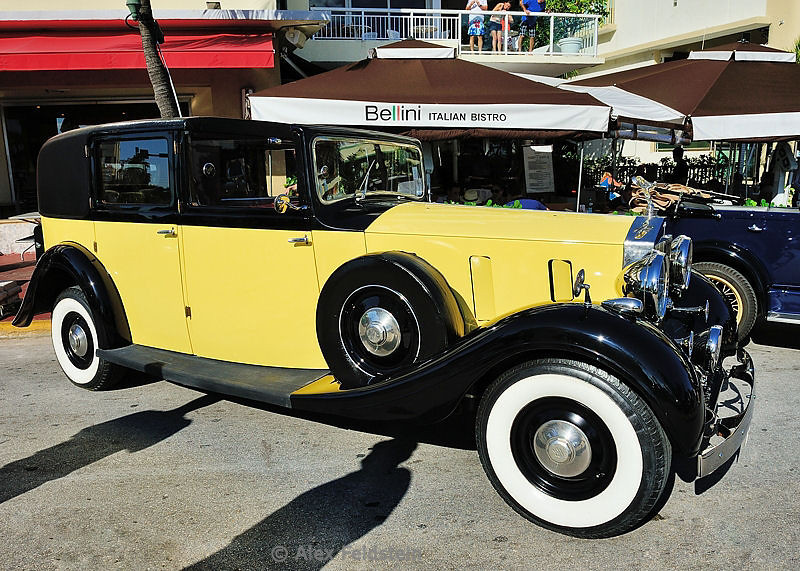 """Rolls Royce used in the movie """"Goldfinger"""""""